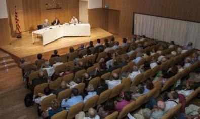 Un dels molts actes celebrats a l'Ateneu Barcelonès