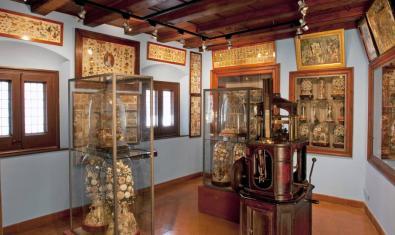 Una de les sales del museu