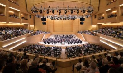 The Auditori, now closed but posting concerts that have taken place there