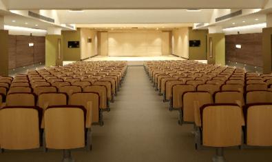 L'Auditori Eduard Toldrà, on tenen lloc els concerts