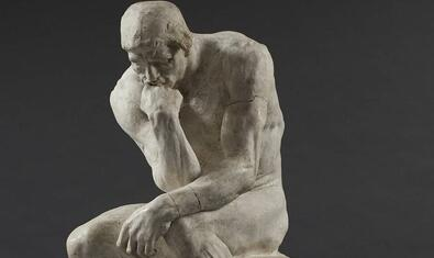 Rodin's 'The Thinker' is one of the works featured in the exhibition