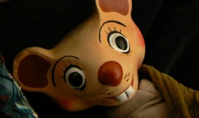 Fotografía del títere del ratón