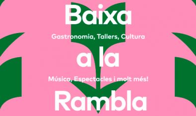 La campanya 'Baixa a La Rambla' vol dinamitzar la zona de La Rambla i el Barri Vell