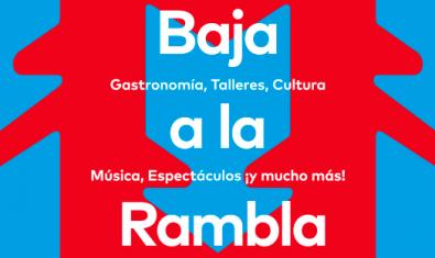 La campaña 'Baixa a La Rambla' quiere dinamizar la zona de La Rambla y el Casco Antiguo