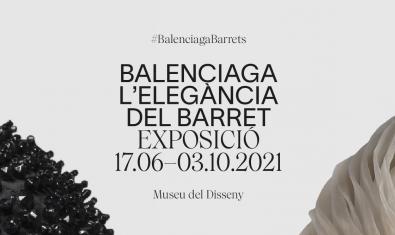'BALENCIAGA. L'elegància del barret' al Museu del Disseny