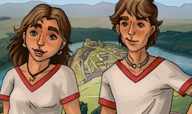 Els protagonistes del joc.