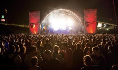 Escenari d'un concert del BAM