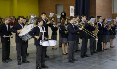 Imagen de archivo de la Banda de Música del Col·legi Pare Manyanet de Barcelona, una de las participantes del ciclo