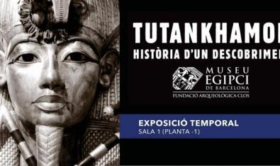 Exposición 'Tutankhamón, historia de un descubrimiento' en el Museo Egipcio de Barcelona