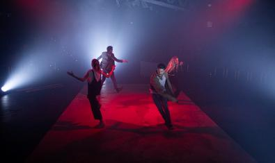 Un moment del musical 'Barcelona 24h'