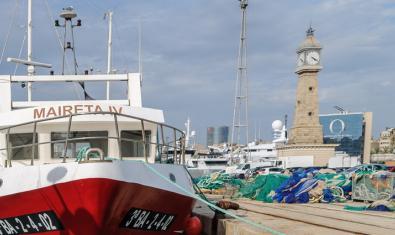 Barcelona port pesquer