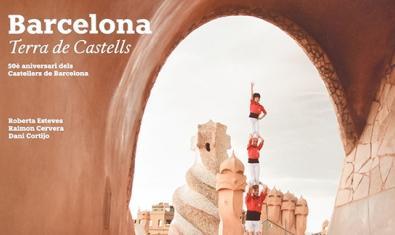 Imatge parcial de la portada del llibre 'Barcelona. Terra de Castells'