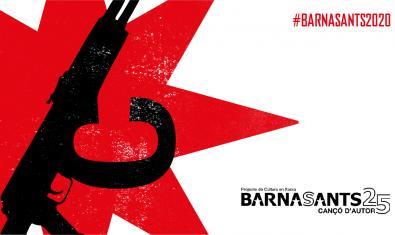 Cartell de la 25a edició del Barnasants