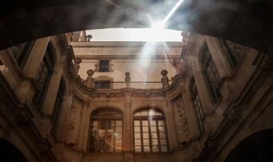 Fachada interior de La Virreina