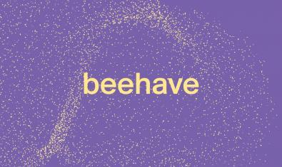 Logo de l'exposició Beehave