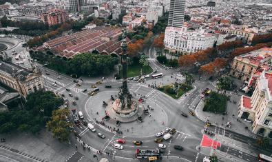 Imagen de calles de Barcelona