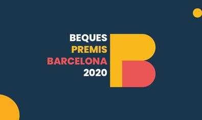 Imatge de les beques Premis Barcelona 2020