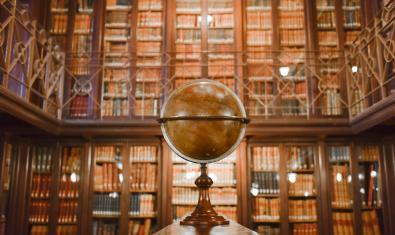 Una imagen de la Biblioteca Arús