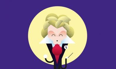 Ilustración de Beethoven