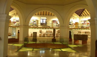 Fotografía de una de las salas del museo