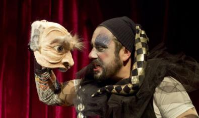 Una escena de 'El bufón del Rey Lear'. © Josep Tobella