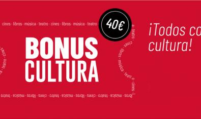 Imagen promocional de los Bonus Cultura