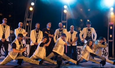 The musicians and dancers starring in this James Brown tribute