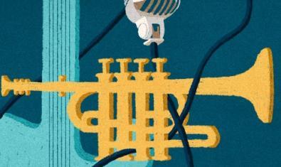 El dibujo de una trompeta sirve de cartel para la edición de este año