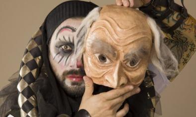 L'actor Felipe Cabezas és 'El bufón del rey Lear'