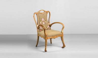 Cadira de braços de Joan Busquets i Jané, 1902