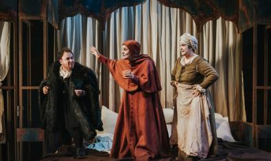 Una escena de Feísima enfermedad y muy triste muerte de la reina Isabel I