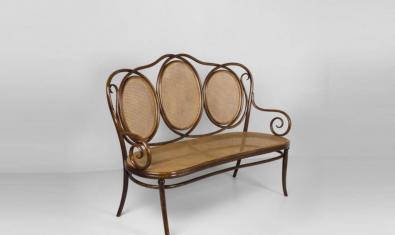 Canapè vienès fabricat el 1885