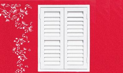 El dibuix d'una finestra amb la persiana tancada serveix d'imatge per al cicle