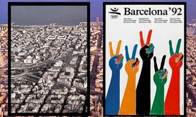 La muestra invita al visitante a mirar Barcelona con otros ojos