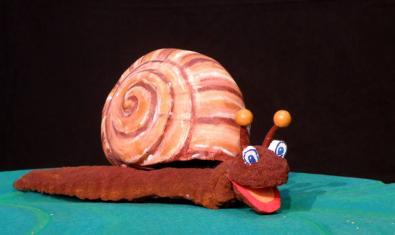 El títere del caracol