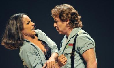 Un momento de la ópera 'Carmen', producida por Calixto Bieito