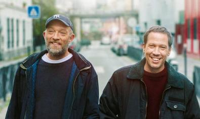 Vincent Cassel (esquerra) i Reda Kateb al film 'Especials'
