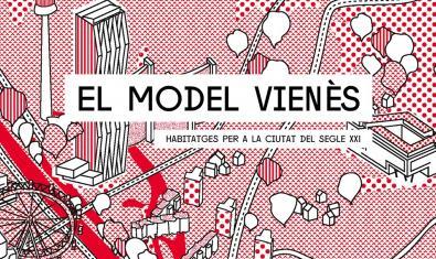 Cartel de la exposición sobre el modelo vienés de vivienda