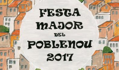 Cartel de la Fiesta Mayor del Poblenou de este 2017