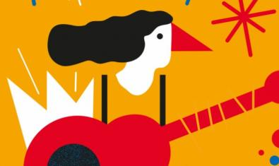 A detail from the poster for the Festa Major del Raval 2017