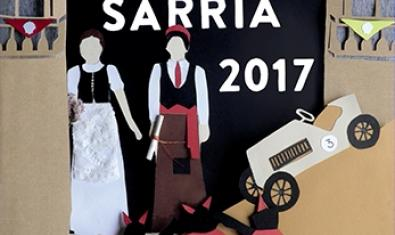 Imatge parcial del cartell de la Festa Major de Sarrià 2017
