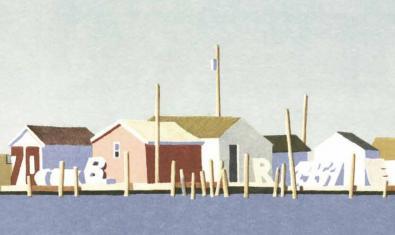 Imatge parcial del cartell de la Fira del Llibre d'Ocasió Antic i Modern