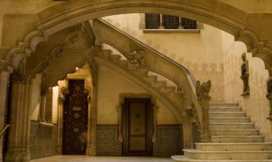 Detall de la casa Amatller, que es pot visitar cada dia