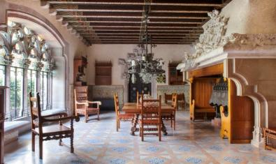 Dining room at the Casa Museu Amatller