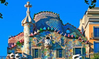 Teulada de la Casa Batlló.