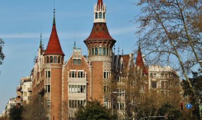 La Casa de les Punxes, un dels edificis de l'arquitecte Puig i Cadafalch