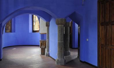 Interior de la Casa del Guarda