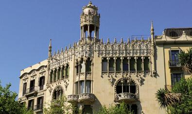 La Casa Lleó i Morera, obra de Lluís Domènech i Montaner