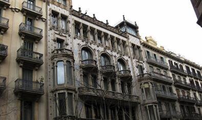 La Casa Thomas és un dels punts de la visita guiada 'El modernisme burgès de Domènech i Montaner'