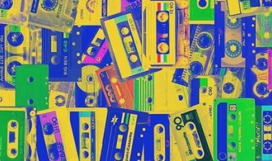 La imagen de un montón de cintas de cassette sirve para anunciar el encuentro